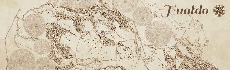 Casas de Hualdo - Un lugar - La Finca - Mapa
