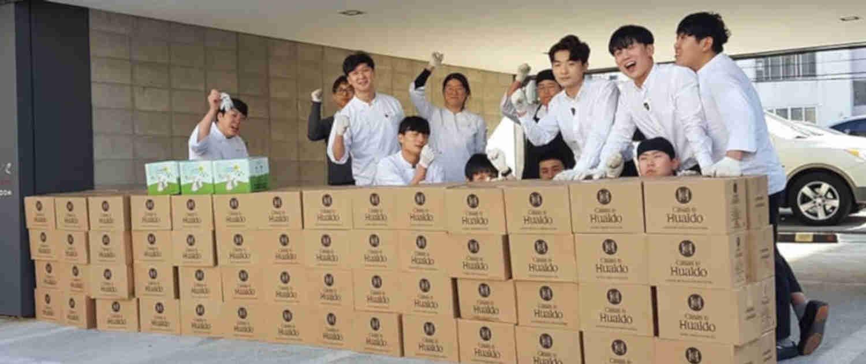 Proyeccion exterior Casas de Hualdo Cajas de aceite Corea 1500x630