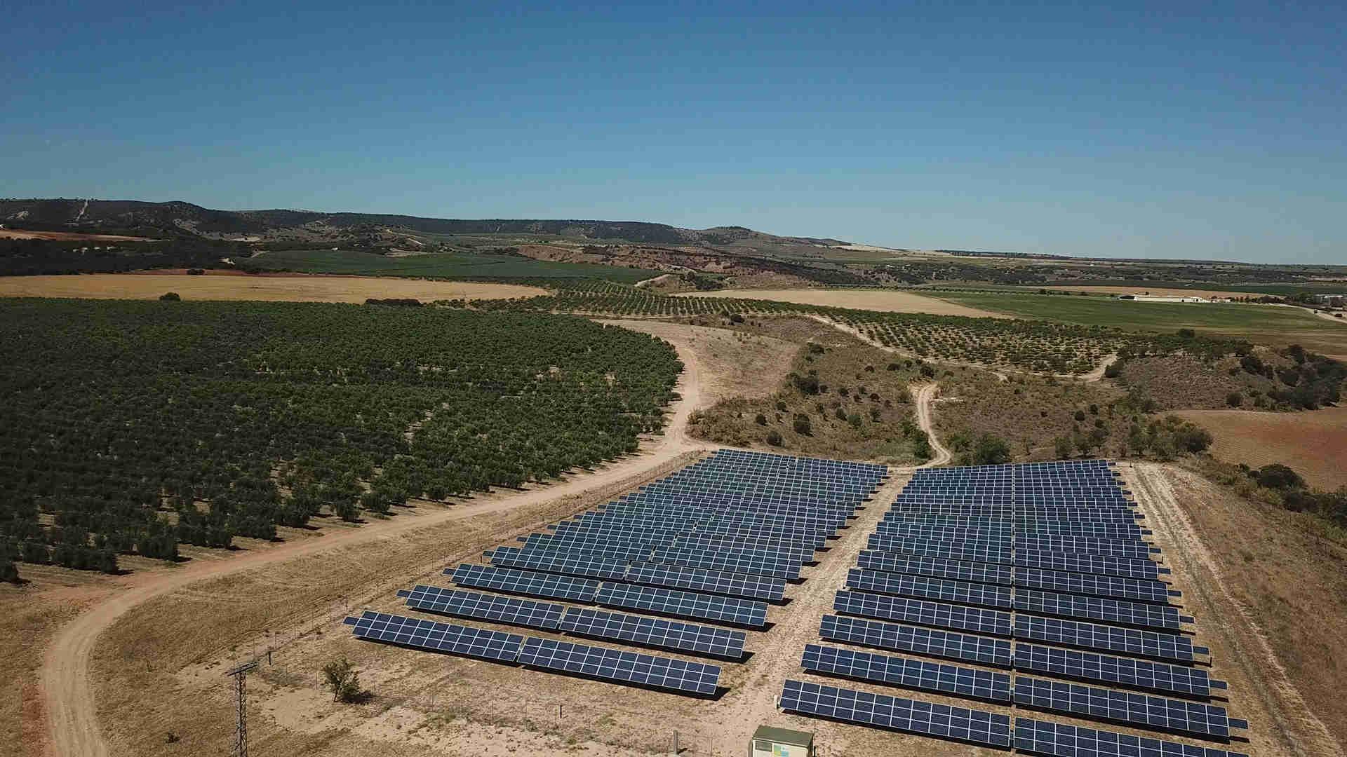 Actualidad Placas solares Colada