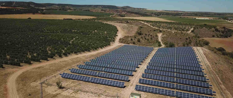 Sostenibilidad Placas solares Casas de Hualdo 1500x630
