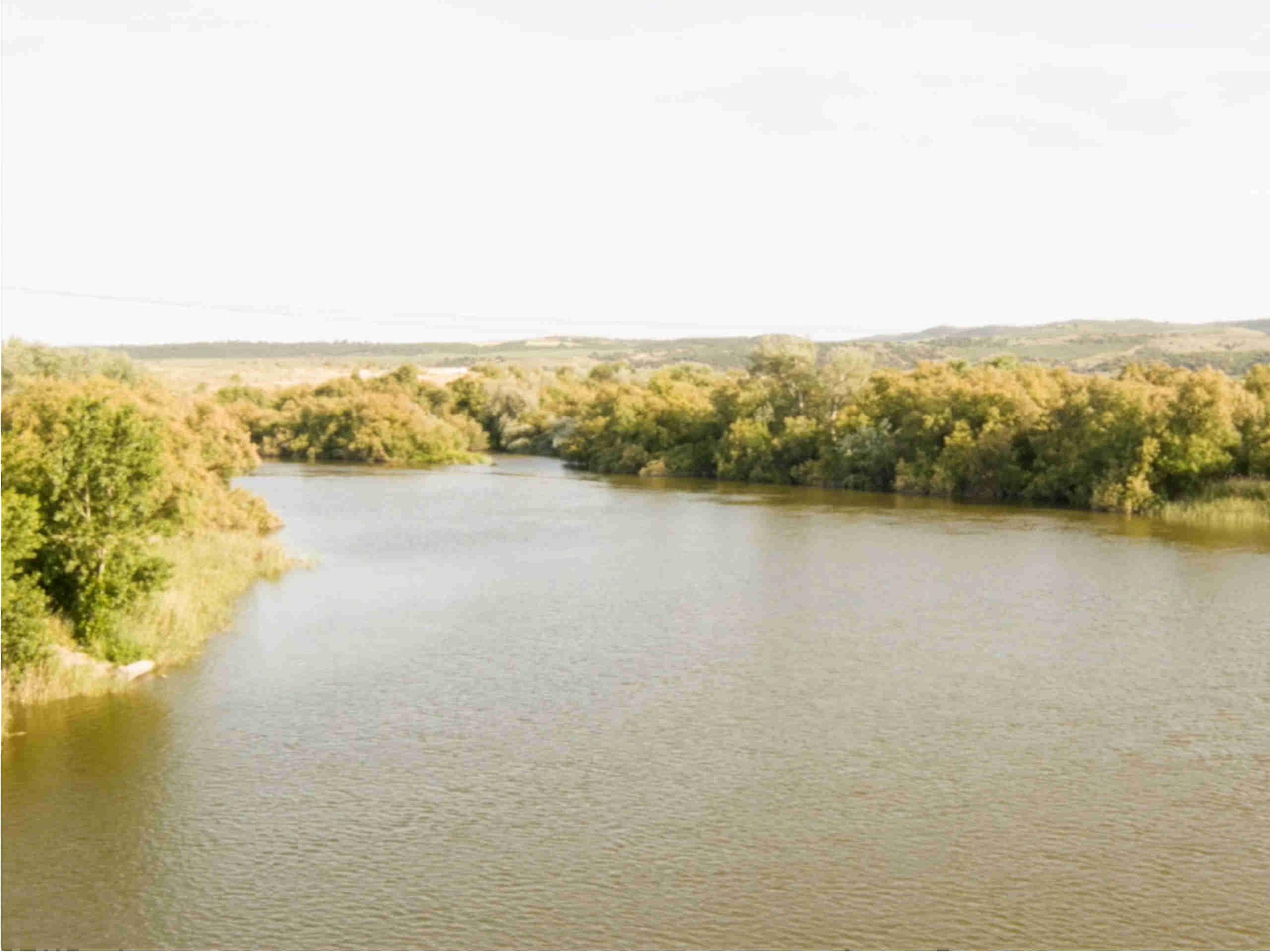 La finca Casas de Hualdo rio Tajo