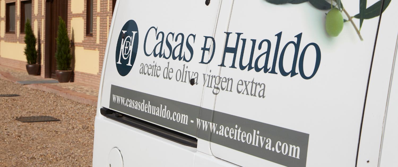 Comercializacion AOVE Casas de Hualdo furgoneta 1500x630