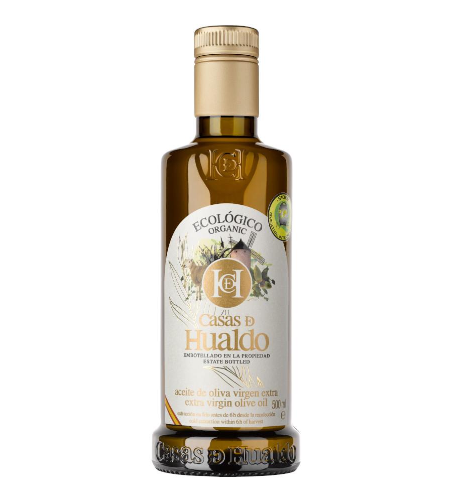 Botella AOVE Ecologico Casas de Hualdo 900x1000